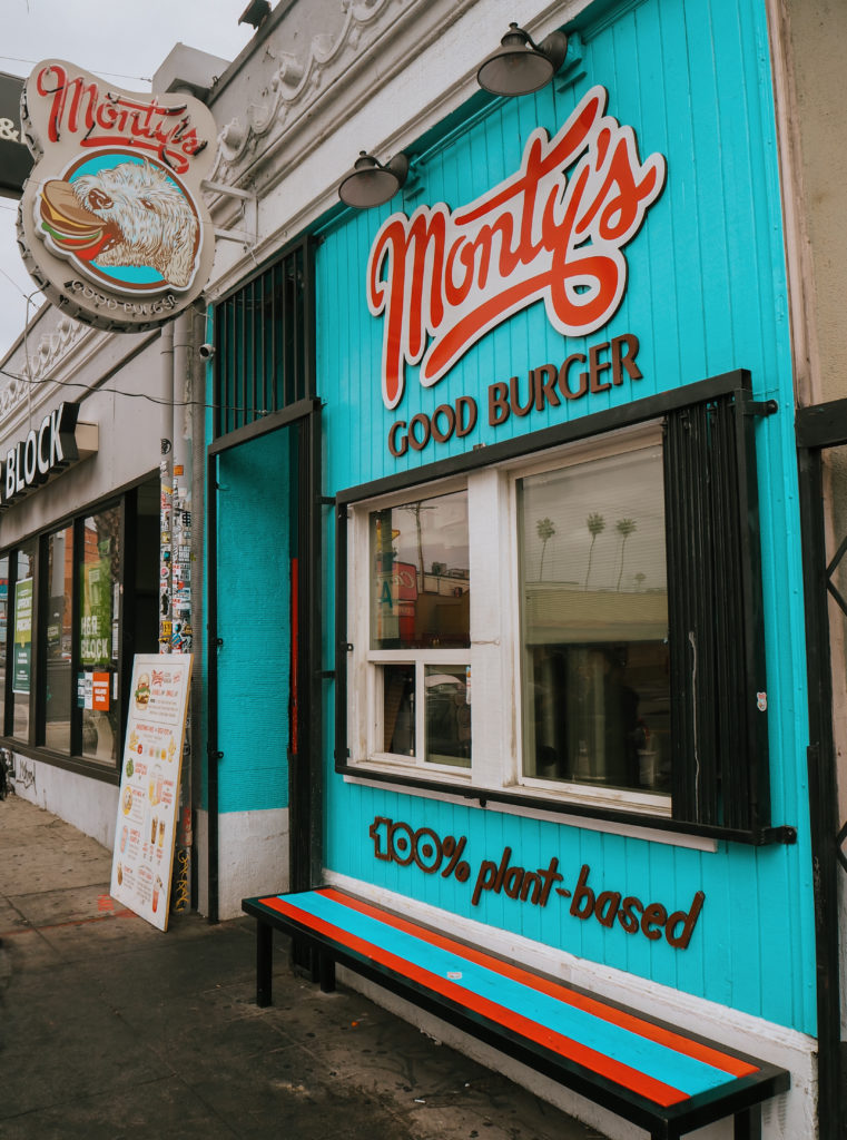 Monty's Good Burger Vegan Fast Food