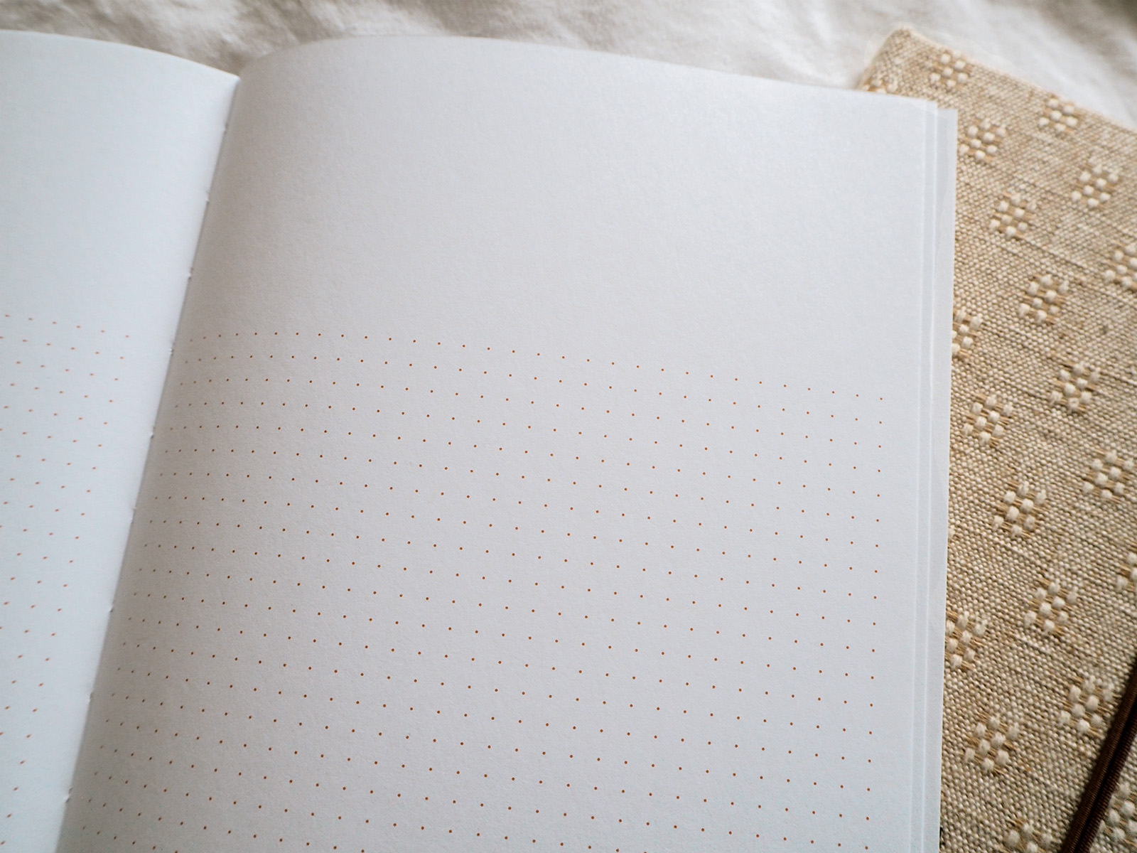 Dotted Notebook Pages