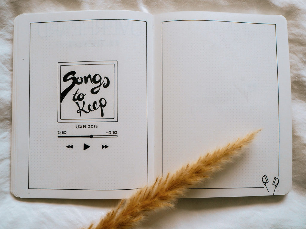 Playlist Journaling Songs to keep