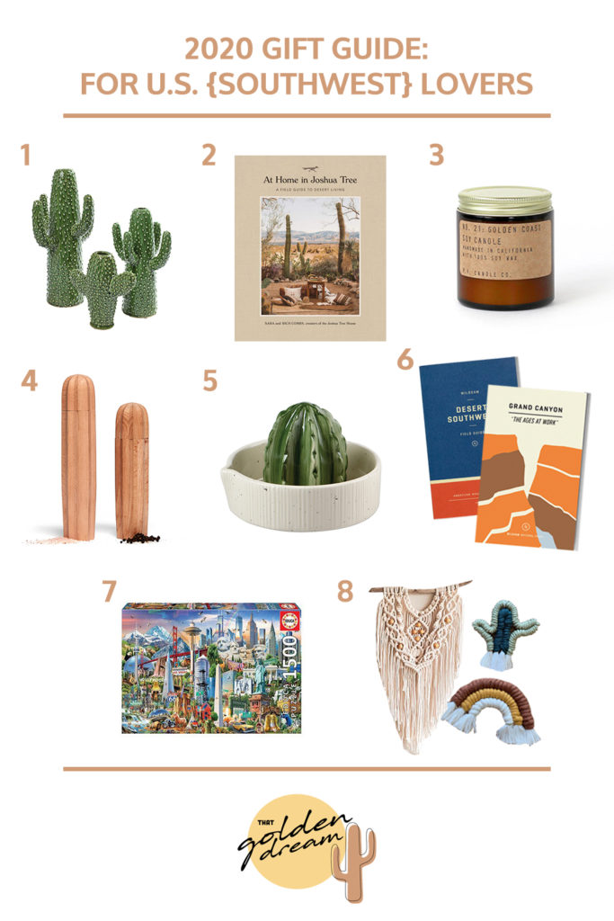 2020 Gift Guide For US Southwest Lovers