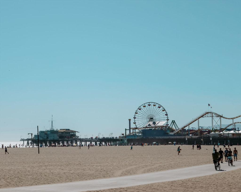Santa Monica Pier with Ferris Wheel