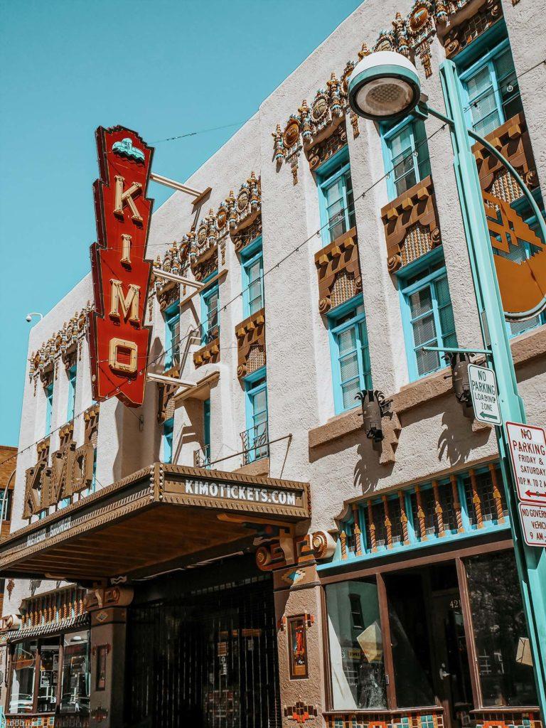 Famous Kimo building in Albuquerque Southwest Road Trip